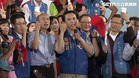 韓國瑜,陳學聖,選戰,軍歌,夜襲