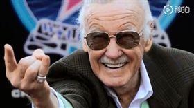 (圖/翻攝自微博)漫威,Marvel,史丹李,Stan Lee,離世,客串之王