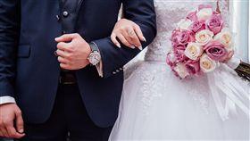 婚禮,婚宴,新人,結婚,/翻攝自Pixabay