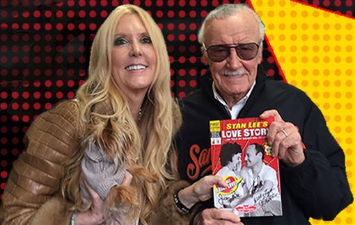 (圖/翻攝自推特)漫威,Marvel,史丹李,Stan Lee,女兒,J.C. Lee