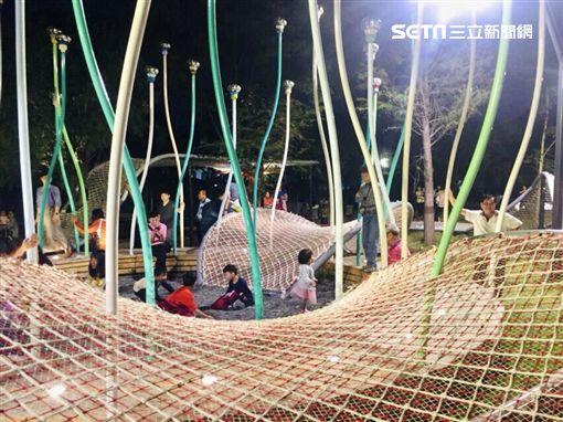 豐原葫蘆墩公園「大地調色盤」(圖/台中市政府提供)