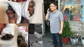撞工人害截肢、議員候選人柯靜志/翻攝畫面、翻攝自柯靜志臉書