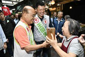 ▲民進黨新北市長候選人蘇貞昌。(圖/蘇貞昌辦公室提供)
