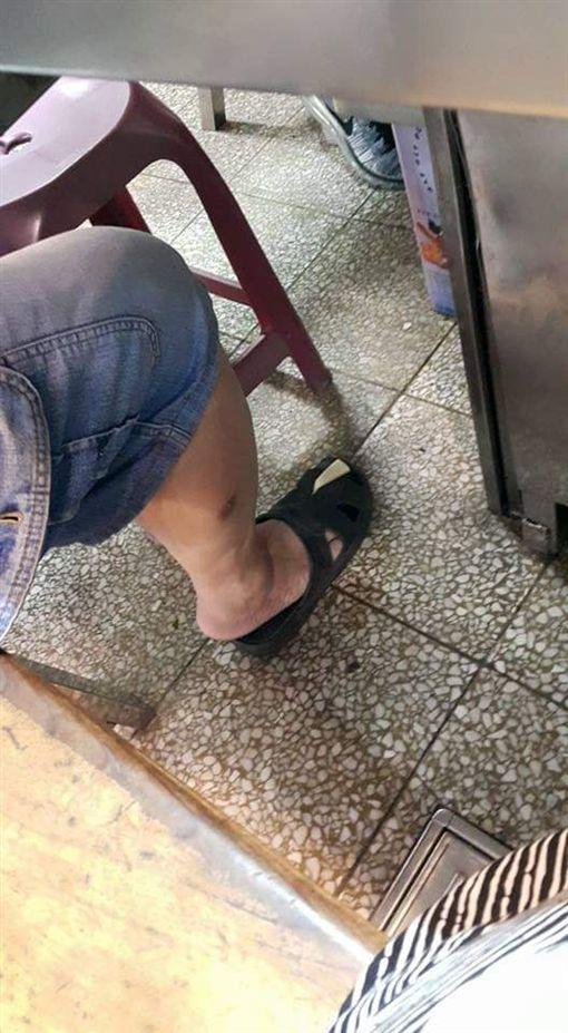 竹筍,拖鞋,/翻攝自爆怨公社