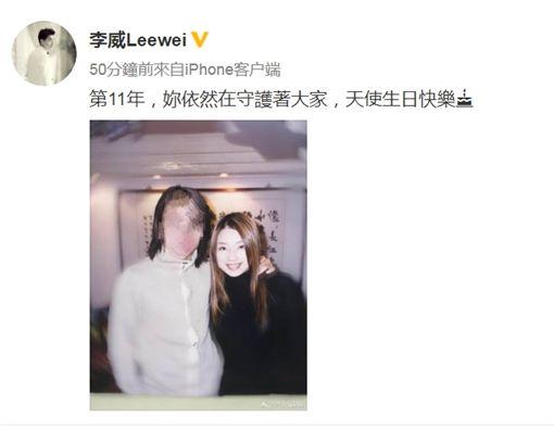 許瑋倫,李威(圖/微博)