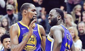 無視杜蘭特 失誤格林竟嗆他「婊子」 NBA,金州勇士,Draymond Green,Kevin Durant,婊子 翻攝自推特