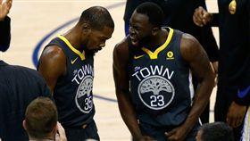 嗆杜蘭特「婊子」 勇士禁賽格林1場 NBA,金州勇士,Draymond Green,Kevin Durant,禁賽 翻攝自推特