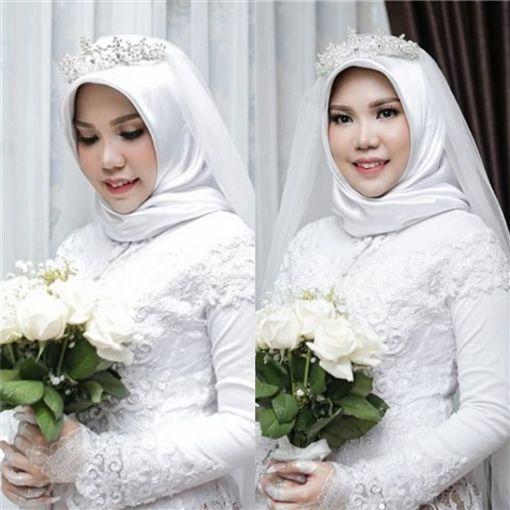 印尼女子櫻丹的未婚夫李奧,搭上印尼獅航JT610班機墜機逝世。(圖/翻攝自Instagram)