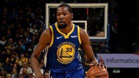 沒有柯瑞、格林 勇士缺雙星仍宰老鷹 NBA,金州勇士,Kevin Durant 翻攝自推特