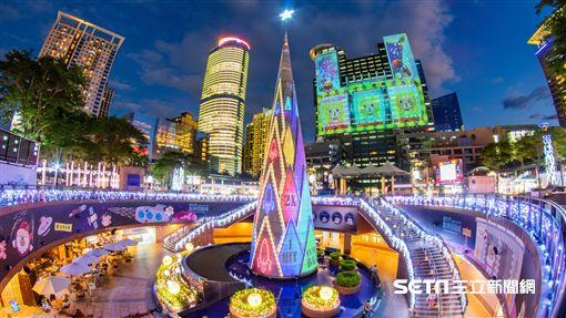 新北歡樂耶誕城,聖誕節。(圖/主辦單位提供)