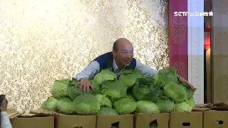 韓國瑜買菜挺攤商:莫忘世上苦人多