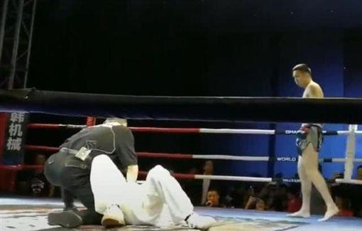 太極拳,自由搏擊,格鬥,影片 圖/翻攝自YouTube