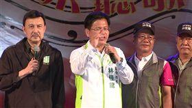 林佳龍,造勢,台中市長,烏日,九合一選舉