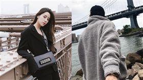 歐陽妮妮,李家安,戀情,約會(圖/翻攝自Instagram)