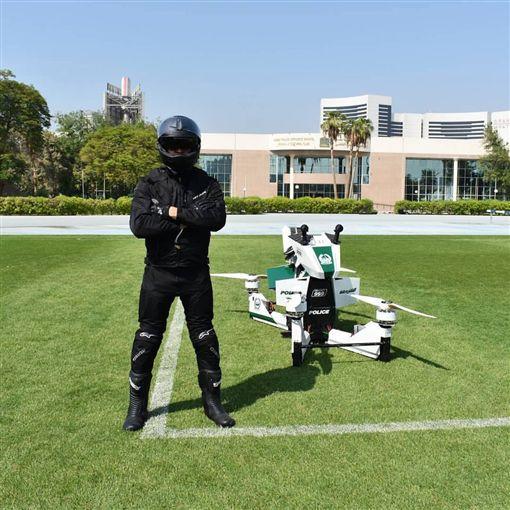 杜拜警用版Scorpion 3 Hoverbike。(圖/翻攝網站)