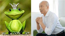 膨風水蛙韓國瑜