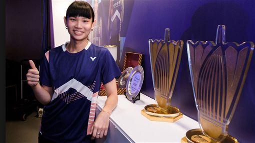 戴資穎奪年度最佳女球員呼聲高。(圖/翻攝BWF臉書官網)