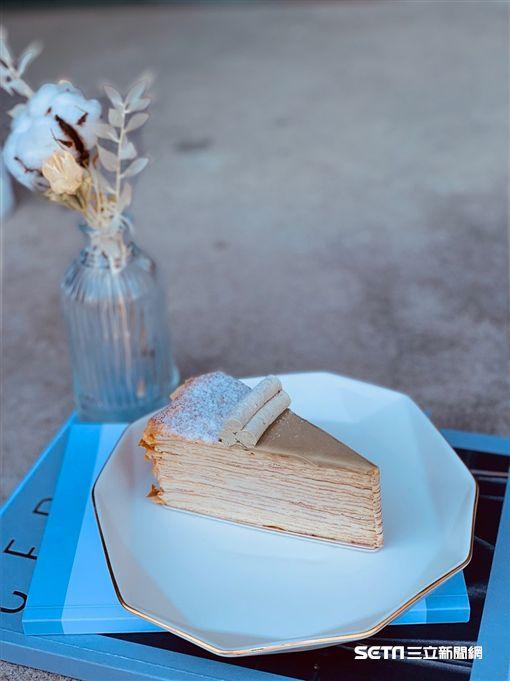 時飴千層蛋糕。(圖/記者馮珮汶攝)