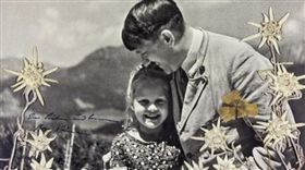 希特勒和猶太女孩的特別友情! 背後故事讓人震驚!(圖/推特)