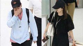 日前二宮和也、伊藤綾子被拍到蜜遊馬爾地夫,右手被拍到戴同色幸運繩。(圖/翻攝自週刊文春)