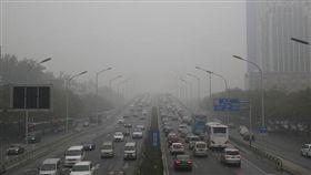 大陸,空汙,霧霾,PM2.5,北京 圖/翻攝自中新網