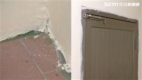 地板、窗、門把爛透! 屋主控包商裝潢落漆