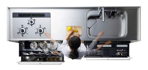 日系廚具大變身 改走典雅大器風 ID-1643800