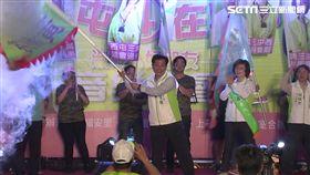 盧秀燕,造勢,台中市長,九合一選舉盧,林佳龍
