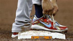 Gleyber Torres球鞋。(圖/美聯社/達志影像)