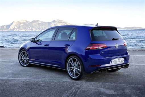 VW Golf R(圖/車訊網)