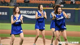 Fubon Angels表演。(資料照/記者王怡翔攝影)
