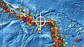 索羅門群島今(16)日發生芮氏規模6.6強震(圖/翻攝自推特)