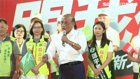 蘇貞昌,新北市長,選舉,侯友宜,造勢