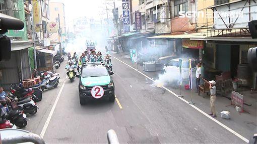 陳其邁旗津掃街,新聞台