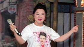 白冰冰出新專輯談到費玉清要退休讓她有感而發。(記者邱榮吉/攝影)