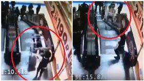 俄羅斯,手扶梯,兄弟,購物車(圖/翻攝自vk.com)