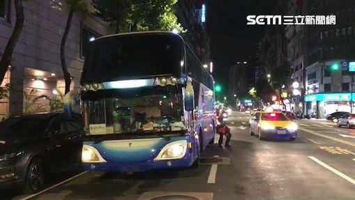 台北市,車禍,死亡車禍,遊覽車,行人,視線死角