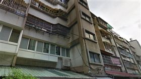 台北,中山區,合江街,出租套房,燒炭,輕生 (圖/翻攝google)