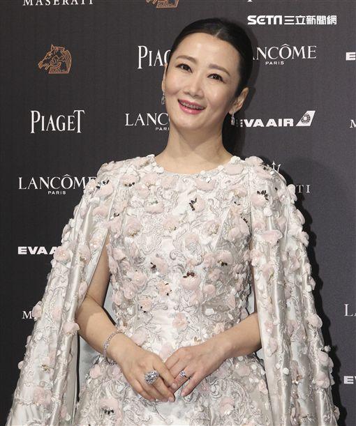 第55屆金馬獎「江湖兒女」入圍女主角獎趙濤。(記者邱榮吉、林士傑/攝影)