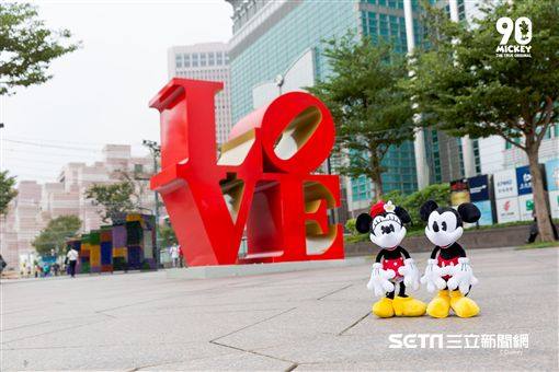 米奇生日FUN派對,米奇,米妮,香堤廣場,台北市觀傳局