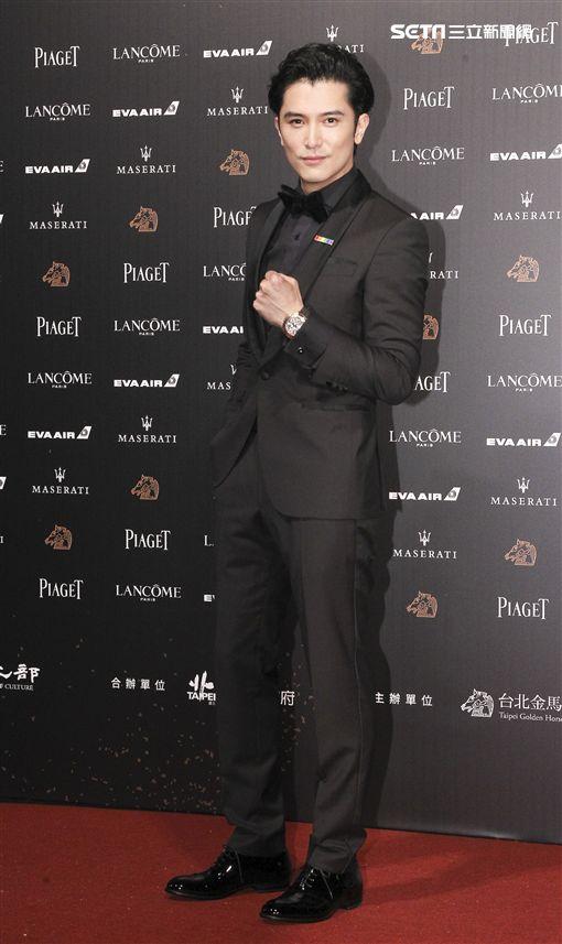 第55屆金馬獎「誰先愛上他的」邱澤。(記者邱榮吉、林士傑/攝影)