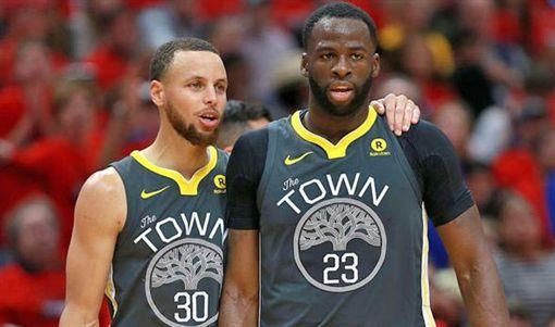 柯瑞傷情傳喜訊 勇士要讓格林休久點NBA,金州勇士,Draymond Green,Stephen Curry,傷情翻攝自推特