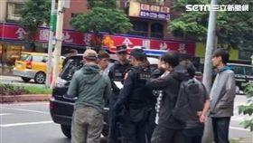 港星,打鬥,霹靂小組,台北,翻攝畫面