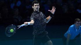 喬科維奇力圖第6座年終總決賽冠軍盃。(圖/翻攝自ATP官網)