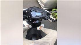 騎車,跨下,大包,吹牛,爆怨公社 圖/翻攝自臉書爆怨公社