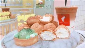 社群商機夯 「PUFF BALL 泡芙球」台中打卡甜點