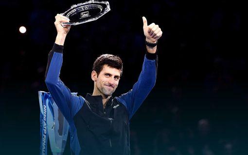 喬科維奇下半季拿下4場冠軍。(圖/翻攝自ATP官網)