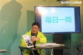 ▲民進黨台北市長候選人姚文智。(圖/記者林仕祥攝)