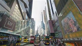 香港銅鑼灣。(翻攝自GoogleMap)