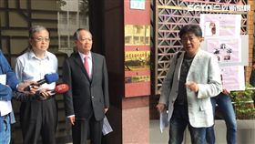大慶證券,前董事長,莊隆慶(中),彭華幹(右),北檢,妨害名譽。潘千詩攝影